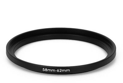 58 mm - 62 mm Filter Adapter Step-Up Adapter Filteradapter Step Up 58-62
