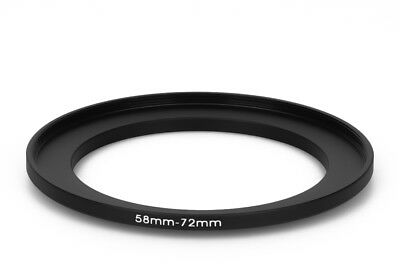 58 mm - 72 mm Filter Adapter Step-Up Adapter Filteradapter Step Up 58-72