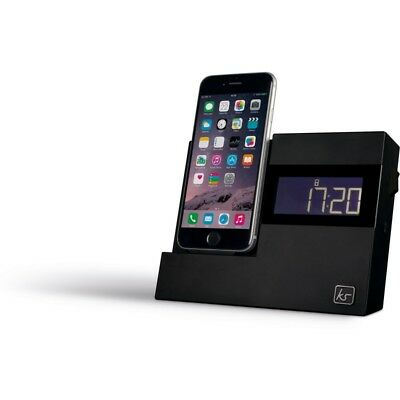 XDock3 Lightning Connector Clock Radio Dock for iPhone 5 / 5S / 6 / Touch 5
