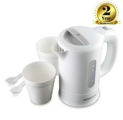 Kenwood JKP250 Dual Travel Jug Kettle with Filter,2 cups And spoon 0.5L 650W New