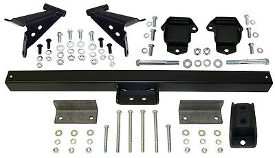 "1955-57 Chevy Belair Engine and Transmission Mount Kit, 3/4"" Forward Location"