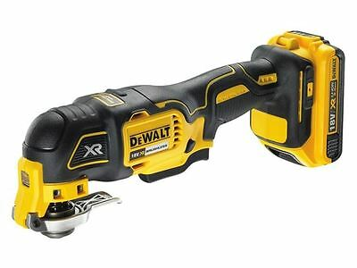 DEWALT - DCS355D1 XR Brushless Oscillating Tool 18 Volt 1 x 2.0Ah Li-Ion