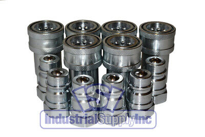 """6-pk 1/2"""" NPT Agricultural  Hydraulic Quick Coupler"""