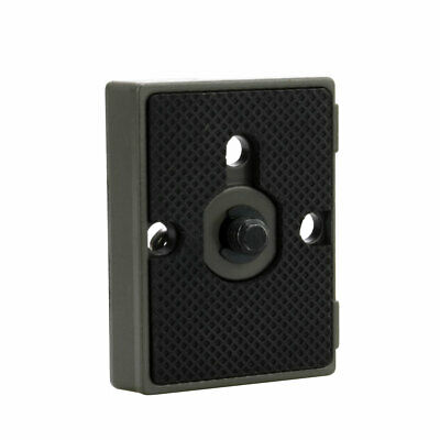 "Quick Release Plate with 1/4"" Screw Fit Manfrotto 200PL-14 701RC2 234RC 700RC2"