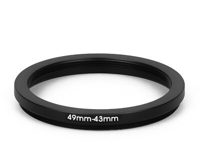 49 mm - 43 mm Filter Adapter Step-Down Adapter Filteradapter Step Down 49-43