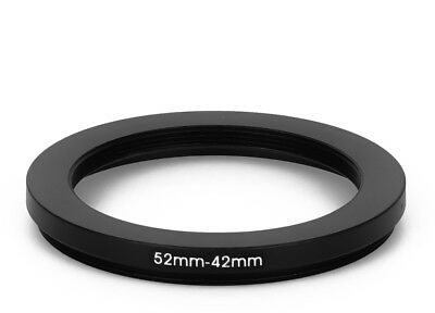 52 mm - 42 mm Filter Adapter Step-Down Adapter Filteradapter Step Down 52-42