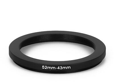52 mm - 43 mm Filter Adapter Step-Down Adapter Filteradapter Step Down 52-43