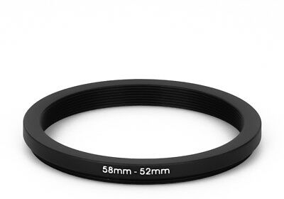 58 mm - 52 mm Filter Adapter Step-Down Adapter Filteradapter Step Down 58-52