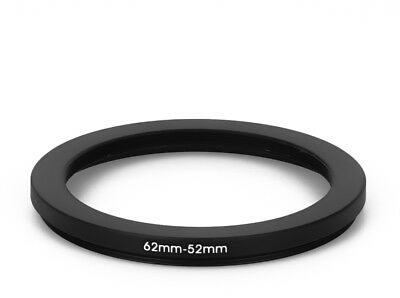 62 mm - 52 mm Filter Adapter Step-Down Adapter Filteradapter Step Down 62-52