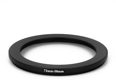 72 mm - 58 mm Filter Adapter Step-Down Adapter Filteradapter Step Down 72-58