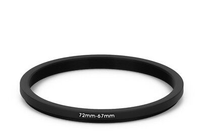 72 mm - 67 mm Filter Adapter Step-Down Adapter Filteradapter Step Down 72-67