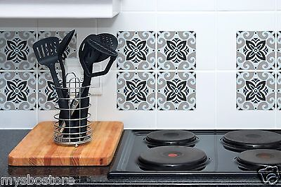 NEW Set Tile Art Wall Decals Stickers DIY Kitchen Bathroom Home Decor Vinyl 1210