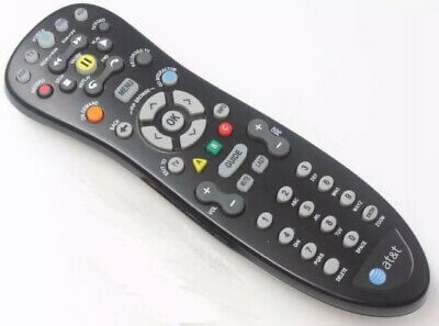 AT&T Uverse U-verse Universal Remote Control S10-S1 Black