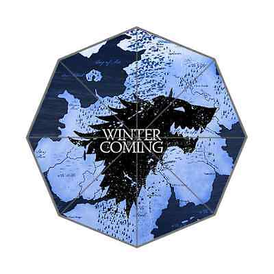 Custom Game of Thrones Men Women and Children Universal Rain Umbrella
