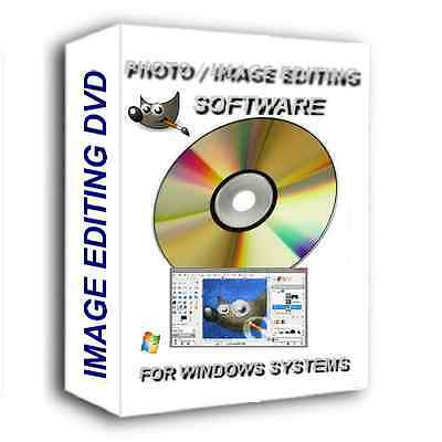 New Professional Photo Editing Software Dvd For Windows Pc Photoshop Compatible
