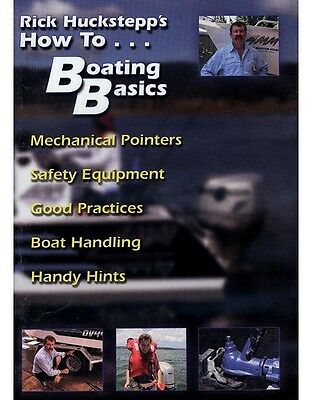 How to... Boating Basics DVD LAST IN STOCK!
