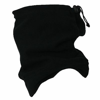 Unisex Snood Scarf Polar Fleece Neck Tube Warmer Thermal Hat Ski Snowboarding UK