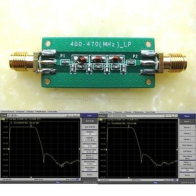 Signal 400-470Mhz 433Mhz Low-pass Filter LPF SWR
