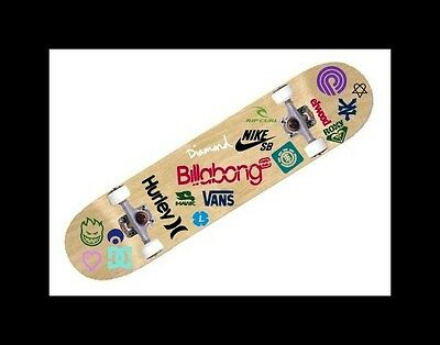 Lot 10 surf skate Decals vans DC shoe roxy Hurley Nike SB Rip Curl Cell Phone