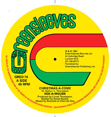 Eek-A-Mouse - Christmas-A-Come