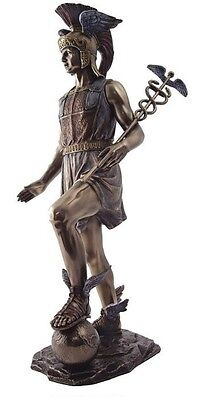 Hermes Mercury Greek Roman Messenger God of Wealth Trade & Travel Statue #1656