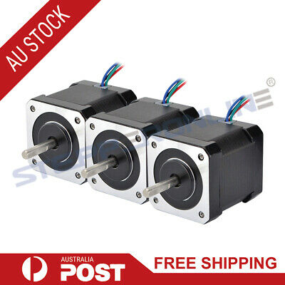 3PCS 59Ncm Nema 17 Stepper Motor 2A 4-wire 1m Cable for DIY 3D Printer CNC Robot