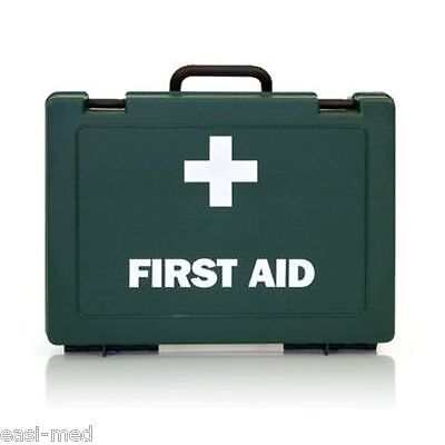 10 Person HSE Workplace First Aid Kit & FREE Wall Bracket *Exp Date - 2023*