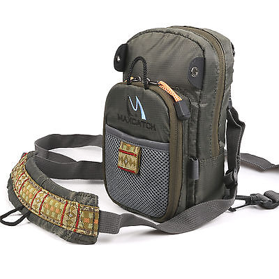 Maxcatch Fly Fishing Chest Pack Lightweight Comfortable Fishing Chest Bag