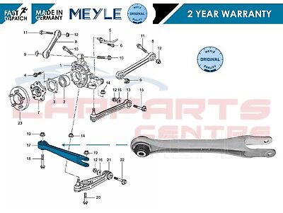 FOR PORSCHE 911 996 Boxster 986 Front OR REAR MEYLE Control Fork Arm Wishbone