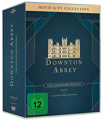 Downton Abbey 1-6 The Complete Collection 1 2 3 4 5 6 Dvd Box Set Englisch