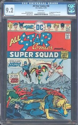 All Star Comics #58 Intro Power Girl Cgc 9.2 Nm- Wp (Id 5942)