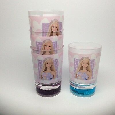 Barbie Cups-A Set Of Four Cups!