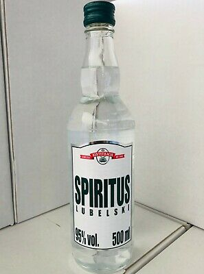 Polmos Spirytus (Spirytus Czysty) Polish Pure Spirit Vodka 500mL
