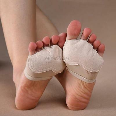 HOT Half Lyrical Shoe Forefoot Cover Foot Thong Toe Undies Jazz Dance Paws E88