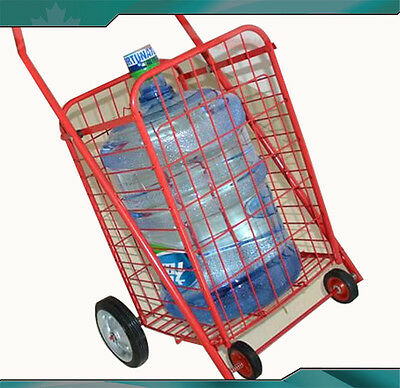NEW Shopping Cart Super Red Easily Transport Can Be Easy Storage