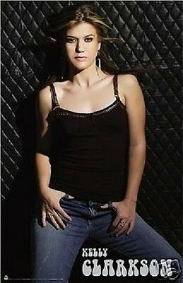 2006 AMERICAN IDOL KELLY CLARKSON POSTER NEW 22x34 FAST FREE SHIPPING