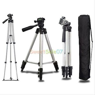 Universal Aluminum Portable Tripod Stand Camera Camcorder W Bag For Canon Nikon