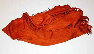 Rust Red Orange Pashmina Style Scarf Brand New