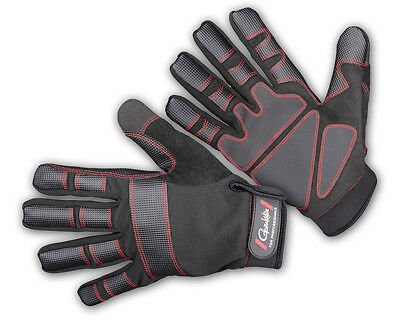 NEUF 2015 Gamakatsu Armor Gloves 5 finger / sizes M, L and XL  / *7190-*