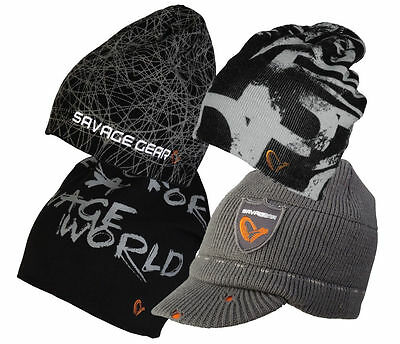 Savage Gear winter caps / hats / beanie / fleece / knitted