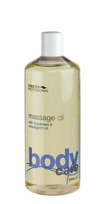 Strictly Professional Body Massage Oil Soya Bean & Wheatgerm 500ml