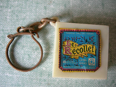 Porte Clef : Fromage Le Recollet Fromagerie Gerard Le Tholy Vosges
