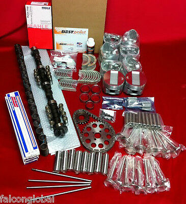 Cadillac 390 Deluxe Engine Kit Pistons+Rings+Cam+Lifters+Stainless Valves 1963