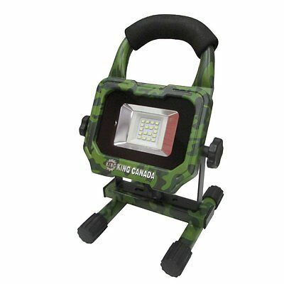 King Canada Tools KC-1202LED-C 7.4V CORDLESS LED WORK LIGHT LAMPE TRAVAIL CAMO