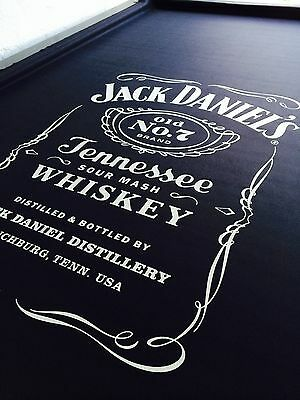 ENGLISH Hainsworth Jack Daniels Pool Snooker Billiard Table Cloth Felt kit 8ft