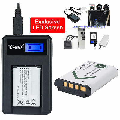 Battery /USB Charger for Sony NP-BX1 RX1R RX100 Ⅱ DSC-HX50 DSC-HX300 Type