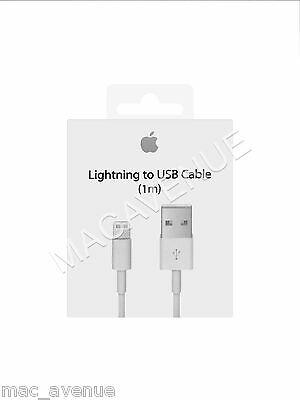 Original Cable Charge Usb Lightning Iphone 5/5C/5S/6/6S/6+ Ipad Apple Md818Zm/a
