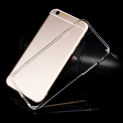 Slim Transparent Crystal Hard Cover Case For Apple iPhone 6s 7 8 Plus XS Mas 5s