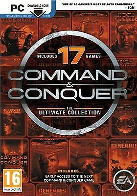 COMMAND and CONQUER ULTIMATE COLLECTION PC (DIGITAL DOWNLOAD CODE ONLY, NO DISC)