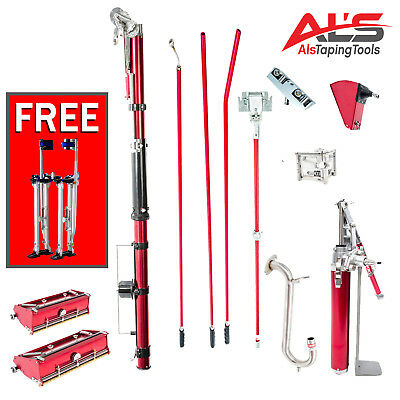 Level5 Full Set of Automatic Drywall Taping Tools w/ FREE STILTS